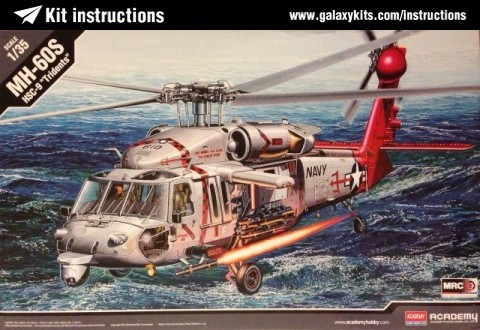 Box cover for Academy MH-60S in 1:35 scale