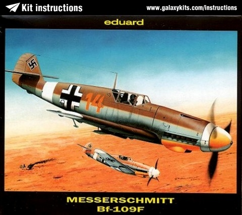 Box cover for Eduard Messerschmitt Bf-109F in 1:144 scale