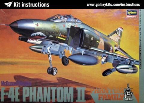 Box cover for Hasegawa F-4E PHANTOM II 'Bataan' in 1:48 scale
