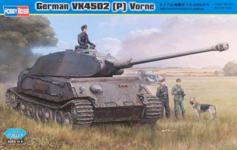 Box cover for Hobby Boss GERMAN VK4502 [P] VORNE  in 1:35 scale