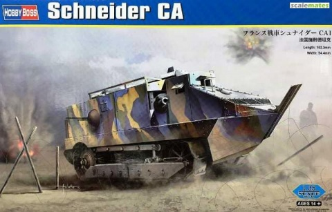 Box cover for Hobby Boss Schneider CA in 1:35 scale
