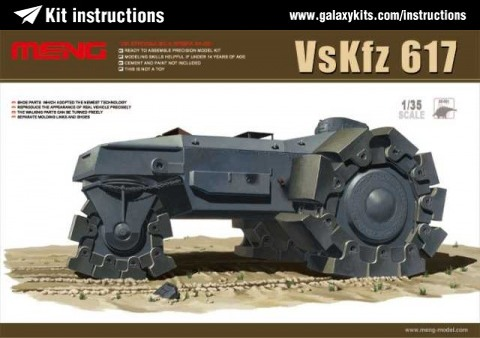 Box cover for Meng VsKfz 617 in 1:35 scale