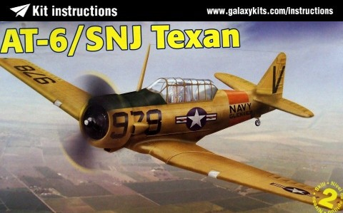 Box cover for REVELL AT-6 /SNJ TEXAN in 1:48 scale