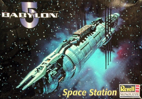 Box cover for REVELL/MONOGRAM Babylon 5 Space Station in Unknown scale