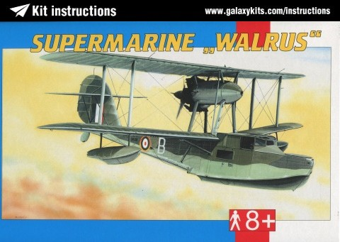 Box cover for Smer Supermarine Walrus Mk.2 in 1:48 scale