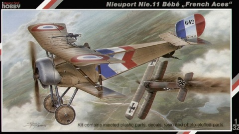 Box cover for Special Hobby Nieuport Nie.11 Bebe French Aces in 1:32 scale