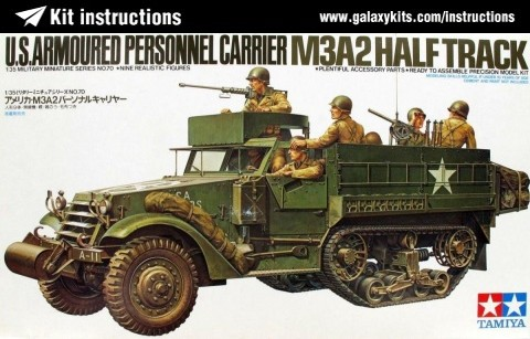 Box cover for Tamiya F. de Groote in 1:35 scale